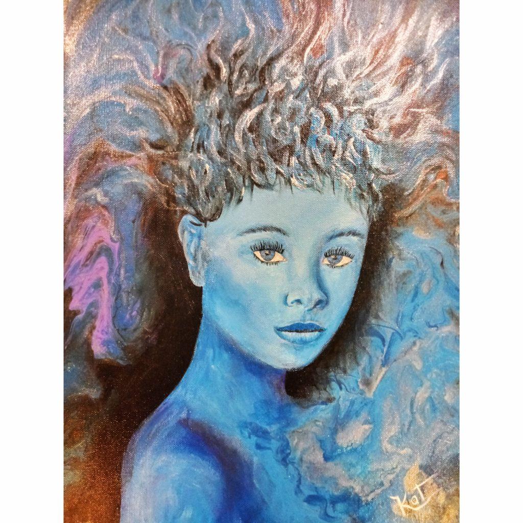 """Lady Blue"""